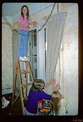 Grandma even put the kids to work.