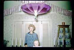 Dotty Burnett's baby shower 1962