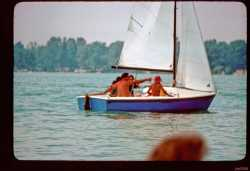 Tom Moore and his sunday sailboat race