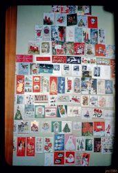People used to send Xmas cards