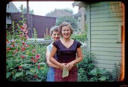 Grandma and Mom in Kenosha