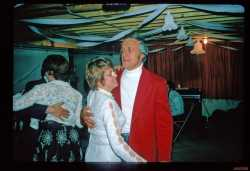 "John ""Bill"" and Julie Hungerford at their anniversary party"