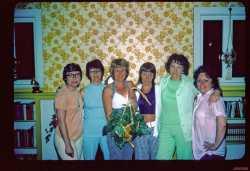 Marleen, Jean, Julie, Jan, Jacki, Beverly Lathom