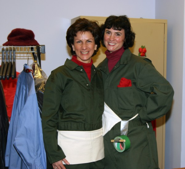 Christine (Missy) Skulstad and friend