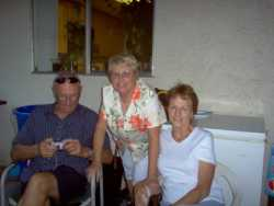 Dad, Mom and Aunt Jackie during her trip to SanDiego with Aunt Jerri