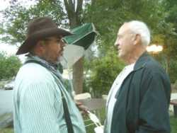 Mike Shain and Dad during Weastern Days 2006