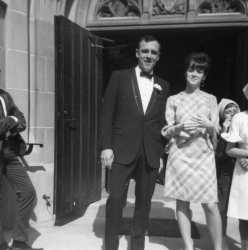 Bill and Laura at whose wedding...? 1967.jpg
