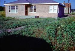 This home was purchased as an unfinished shell in 1950. It was located in a 4 by 6 block area known as Jefferson Gardens. We were one of the first homes and the neighborhood consisted of abandoned farm fields all gone to weed. Amazingly enough my father finised this home in a reasonable time stumbling around a family of five and a limited budget.