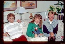 Auntie Kay, Robyn, Jan