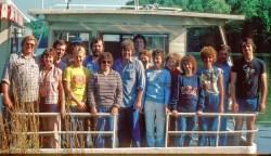 Highlight for Album: Barkley Lake House Boat Trip 1980
