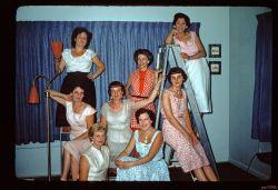 Back: Sue Shoener,?,Toni Patyk Middle Dorthery Stafford, Edna Gula, Ruth Henderickson Front Dotty Bernett, Frieda Shankland