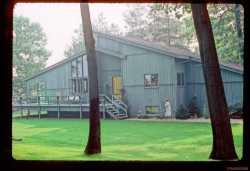Grandma Mary and the wonderful home at Klinger Lake Michigan