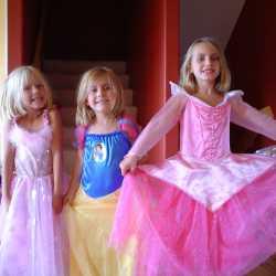 Now princesses