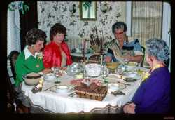 I loved having a dinning room and all the family dinners there.